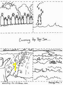 crossing red sea sequence coloring Bible Crafts For Kids Preschool Bible Bible Lessons For