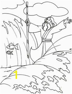 Printable Coloring Pages Of Moses Parting the Red Sea 26 Best Moses Red Sea Images On Pinterest In 2018