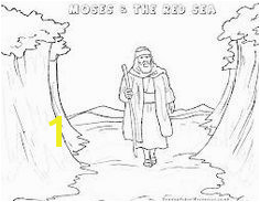 moses parts the sea craft Google Search Preschool Coloring Pages Bible Coloring Pages