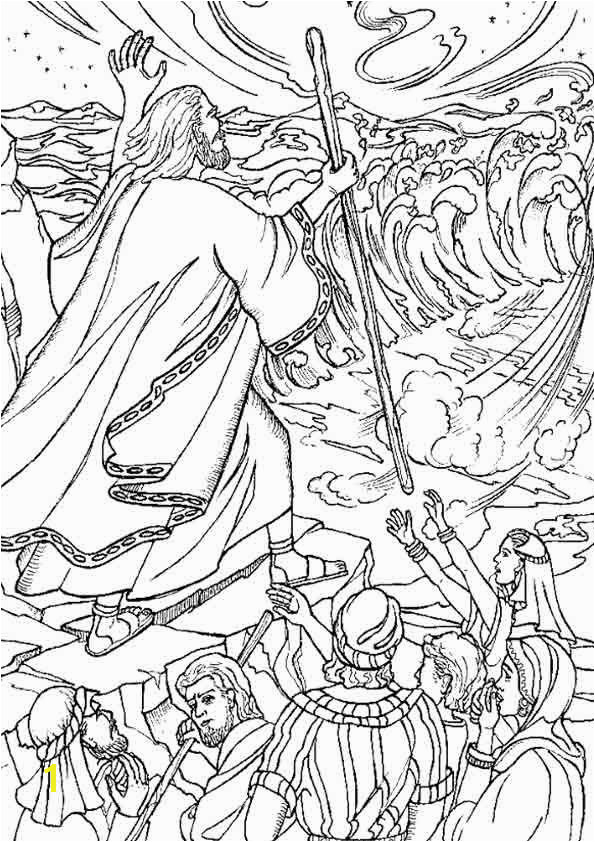 Top 25 Moses Coloring Pages For Your Little es