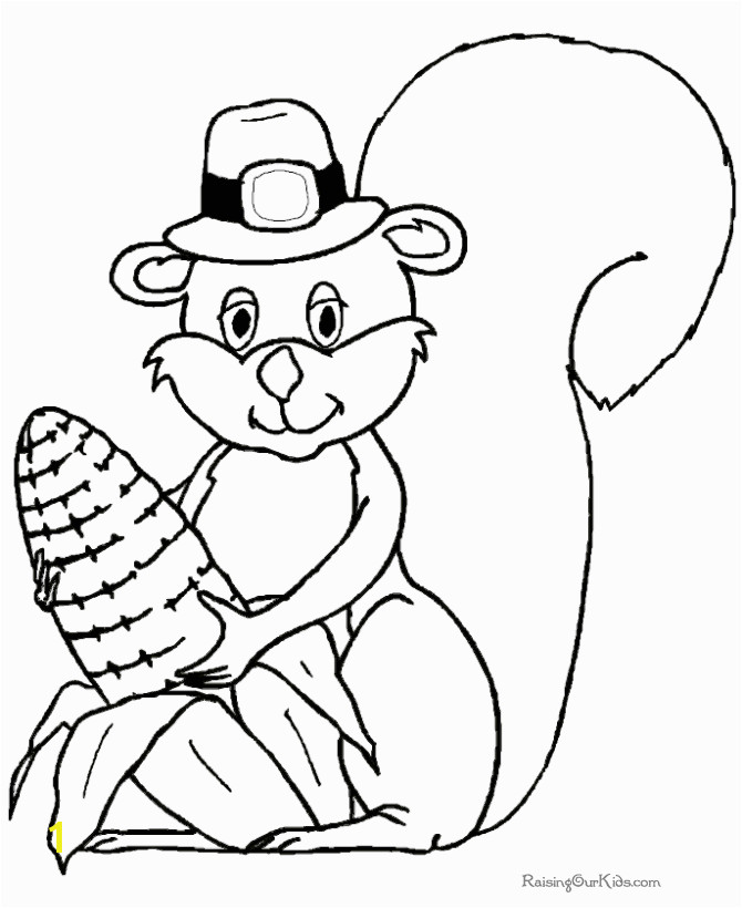 Thanksgiving Coloring Pages Funny