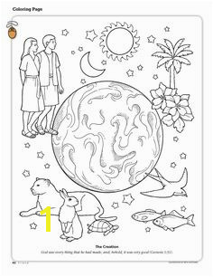 Primary 6 Lesson 3 The Creation Creation Coloring PagesLds Coloring PagesPrintable ColoringBible