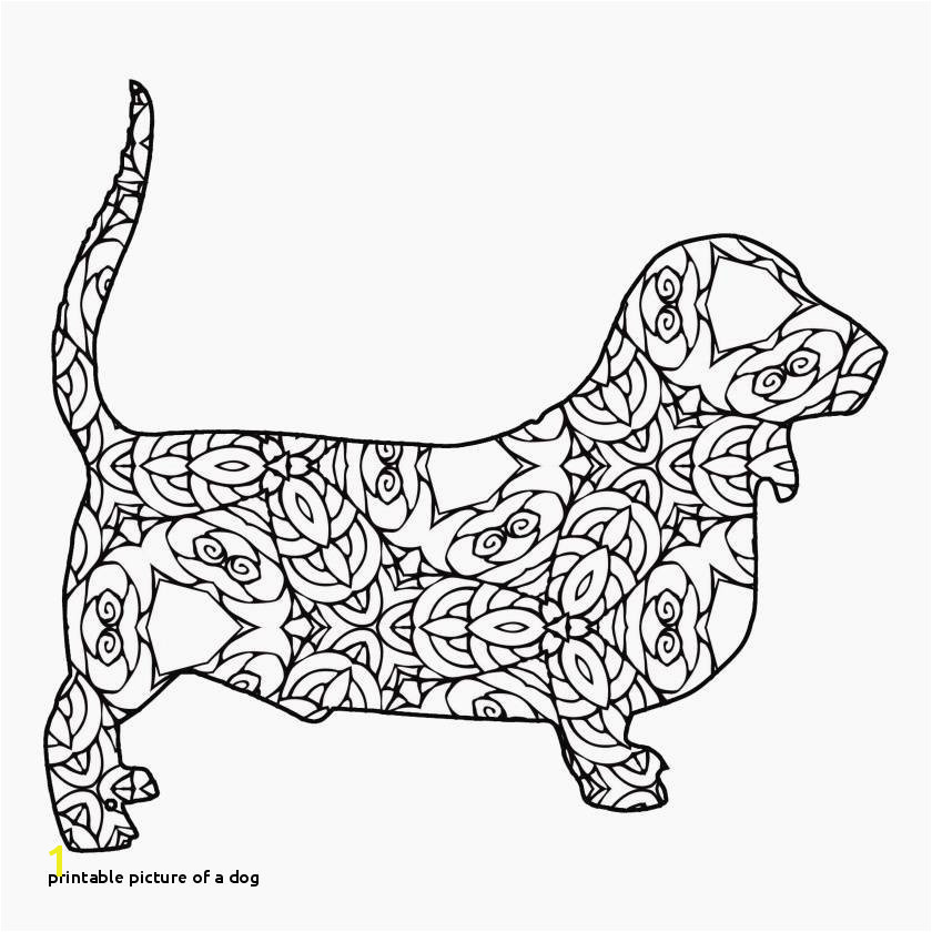 Printable Picture A Dog Unique Puppy Coloring Page Printable Elegant Awesome Od Dog Coloring