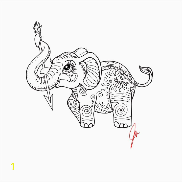 Elephant Coloring Pages Awesome Elephant Coloring Pages Printable Unique Elephant for Coloring Color Elephant Coloring