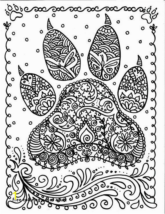 Free Coloring Pages Adult Free Adult Printable Coloring Pages Best Cool Od Dog Coloring