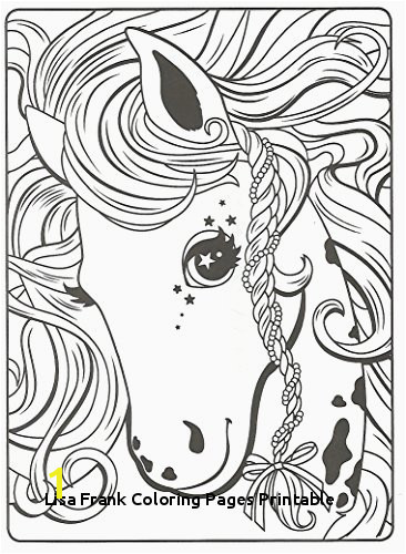 30 Lisa Frank Coloring Pages