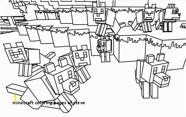 Printable Minecraft Coloring Pages Minecraft Coloring Pages Steve Minecraft Coloring Pages Printable