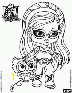 Printable Monster High Coloring Pages Baby Monster High Coloring Pages Coloring Pages