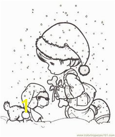 Coloring Pages Moments Coloring Sheets Cartoons Precious moments free printable coloring page online