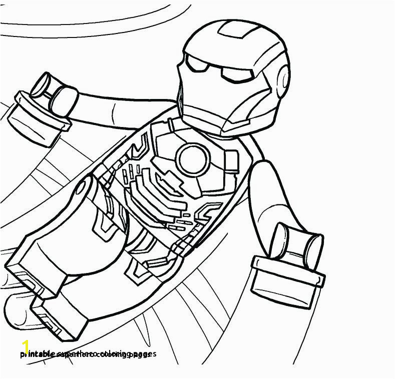 Printable Superhero Coloring Pages Coloring Pages Superheroes Best 0 0d Spiderman Rituals You Should