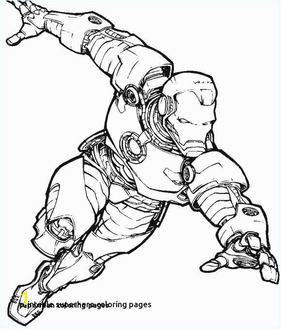 Superman Coloring Pages Superhero Coloring Pages Printable New 0 0d