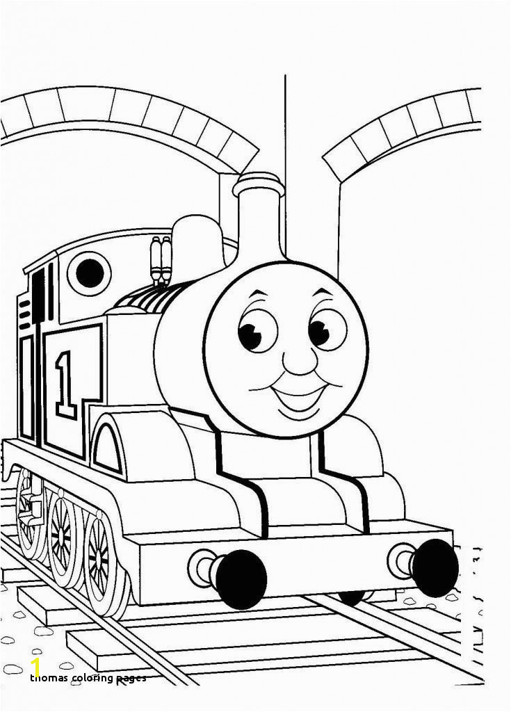 Thomas Coloring Pages Free Printable Train Coloring Pages for Kids