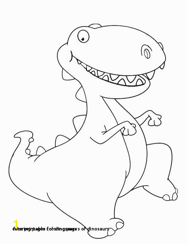 25 Coloring Pages for Dinosaurs