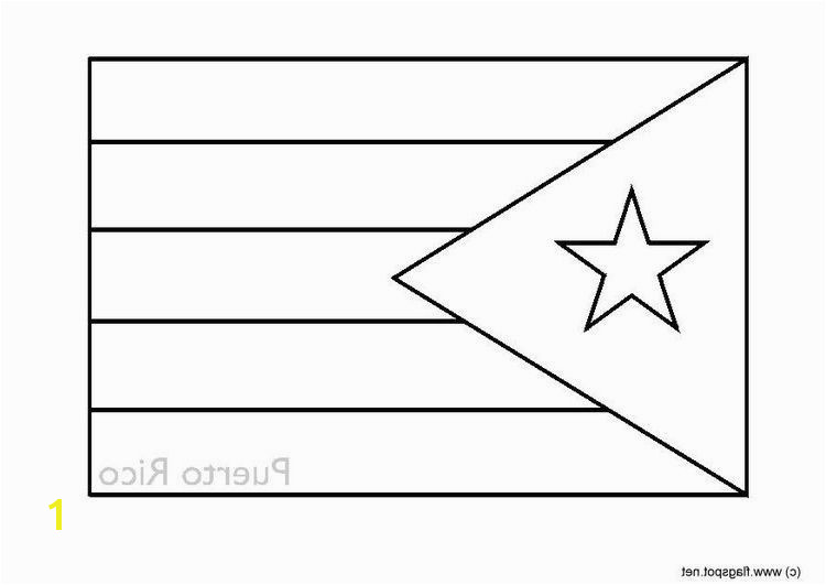 coolest puerto rico flag coloring page coloring alifiah biz