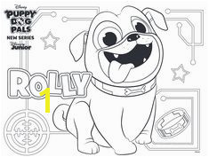 Free Rolly Puppy Dog Pals coloring page