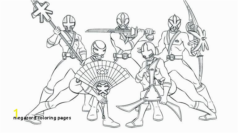 24 Megazord Coloring Pages Megazord Coloring Pages Power Ranger