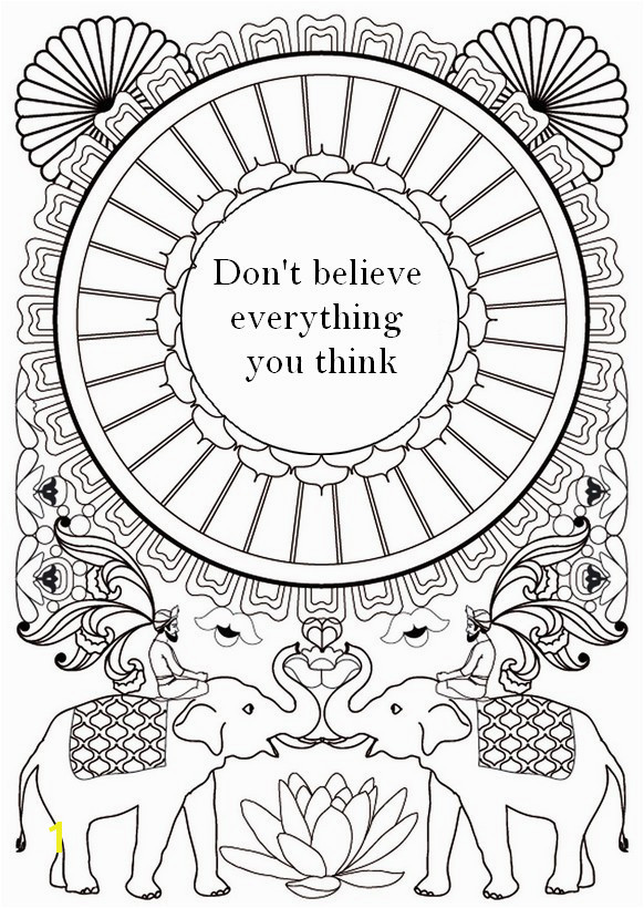 quote Coloring Pages for Teens