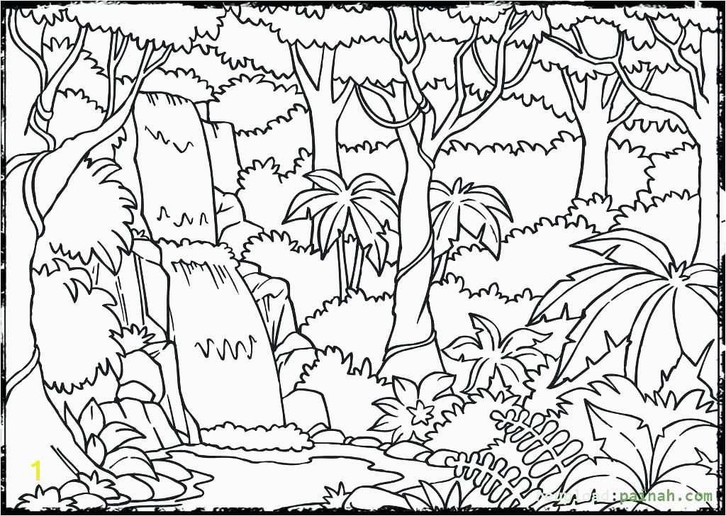 Rainforest Coloring Pages Awesome Rainforest Animals Coloring Page Unique Good Coloring Beautiful Rainforest Coloring Pages