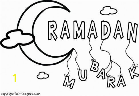 Printable ramadan mubarak coloring pages for kids Printable Coloring Pages For Kids