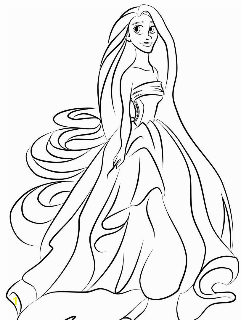 young Princess coloring pages Google Search Princess Rapunzel Tangled Rapunzel Disney Tangled