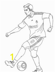 Cristiano Ronaldo Skill Coloring Pages Football Coloring Pages KidsDrawing – Free Coloring Pages line