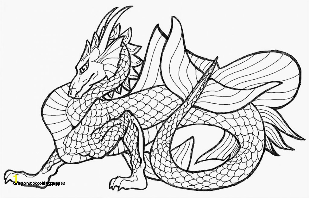 Dragon Coloring Page 29 Dragons Coloring Pages