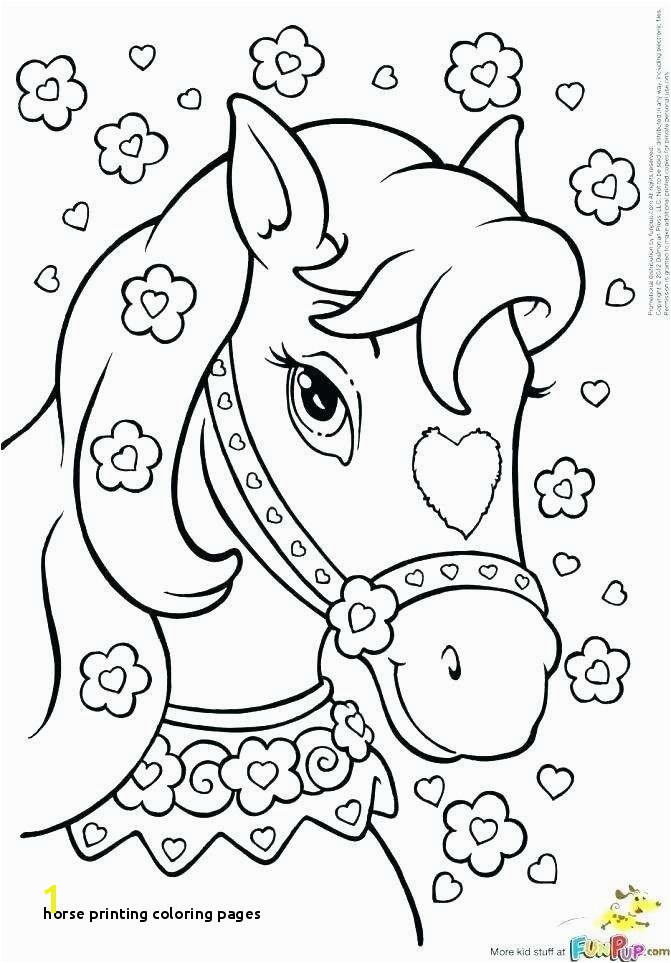 Barbie Printable Coloring Pages Unique Coloring Pages Horses Horse
