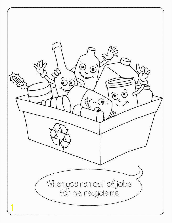 Recycling Coloring Pages for Kids Printable Recycling Coloring Pages Fresh Recycling Coloring Pages Lovely