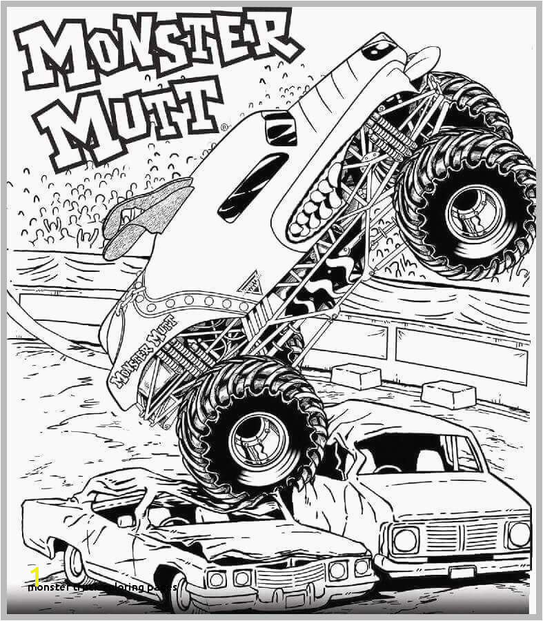 Monster Truck Coloring Pages Monster Truck Coloring Pages Elegant Monster Truck 25 Transportation