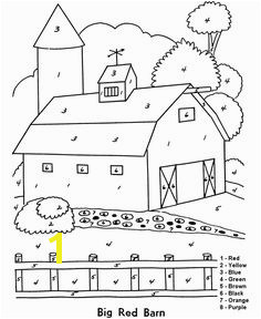 Adult Color By Numbers Farm Coloring Pages Free Coloring Coloring Sheets For Kids