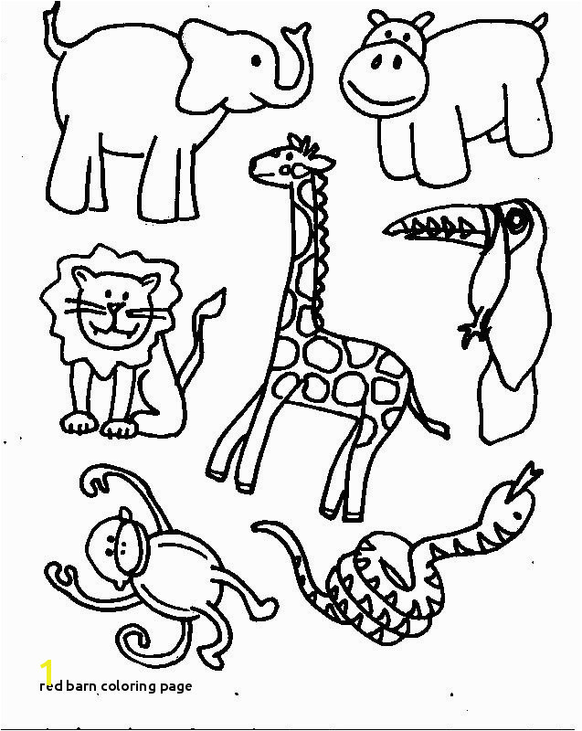Red Barn Coloring Page Animals Printable Coloring Pages Free Printable Coloring Pages