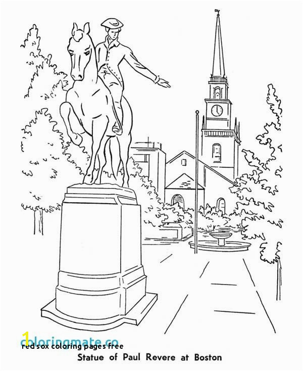 Red sox Coloring Pages Fresh Red sox Coloring Pages Lovely Boston