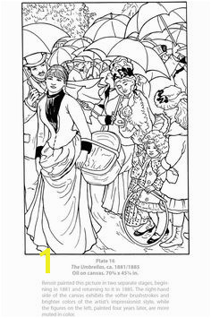 Renoir Coloring Pages 29 Best Coloring Pages to Print Art Images On Pinterest
