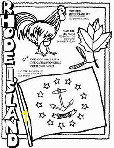 Rhode Island State Symbol Coloring Page by Crayola Print or color online RhodeIsland