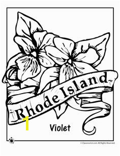 State Flower Coloring Pages Rhode Island State Flower Coloring Page – Classroom Jr Flower Coloring