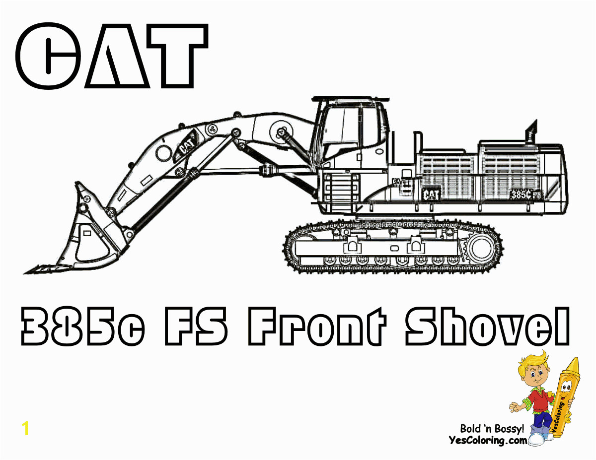 CAT Front Shovel 385C Pic To Print