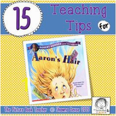 Aaron s Hair by Robert Munsch Teaching Ideas