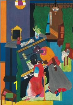 Romare Bearden Homage to Mary Lou The Piano African American Artist