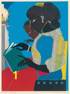 The Lamp Romare Bearden Art Articles Western Art Collage Artists Artwork