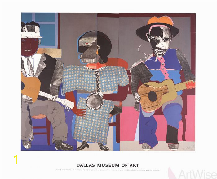 Romare Bearden Soul Three 2007 Poster