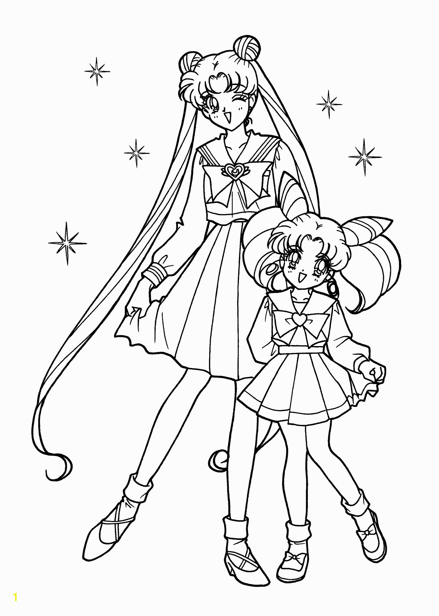 Sailor Mini Moon Coloring Pages 13 Best Sailor Mini Moon Coloring Pages