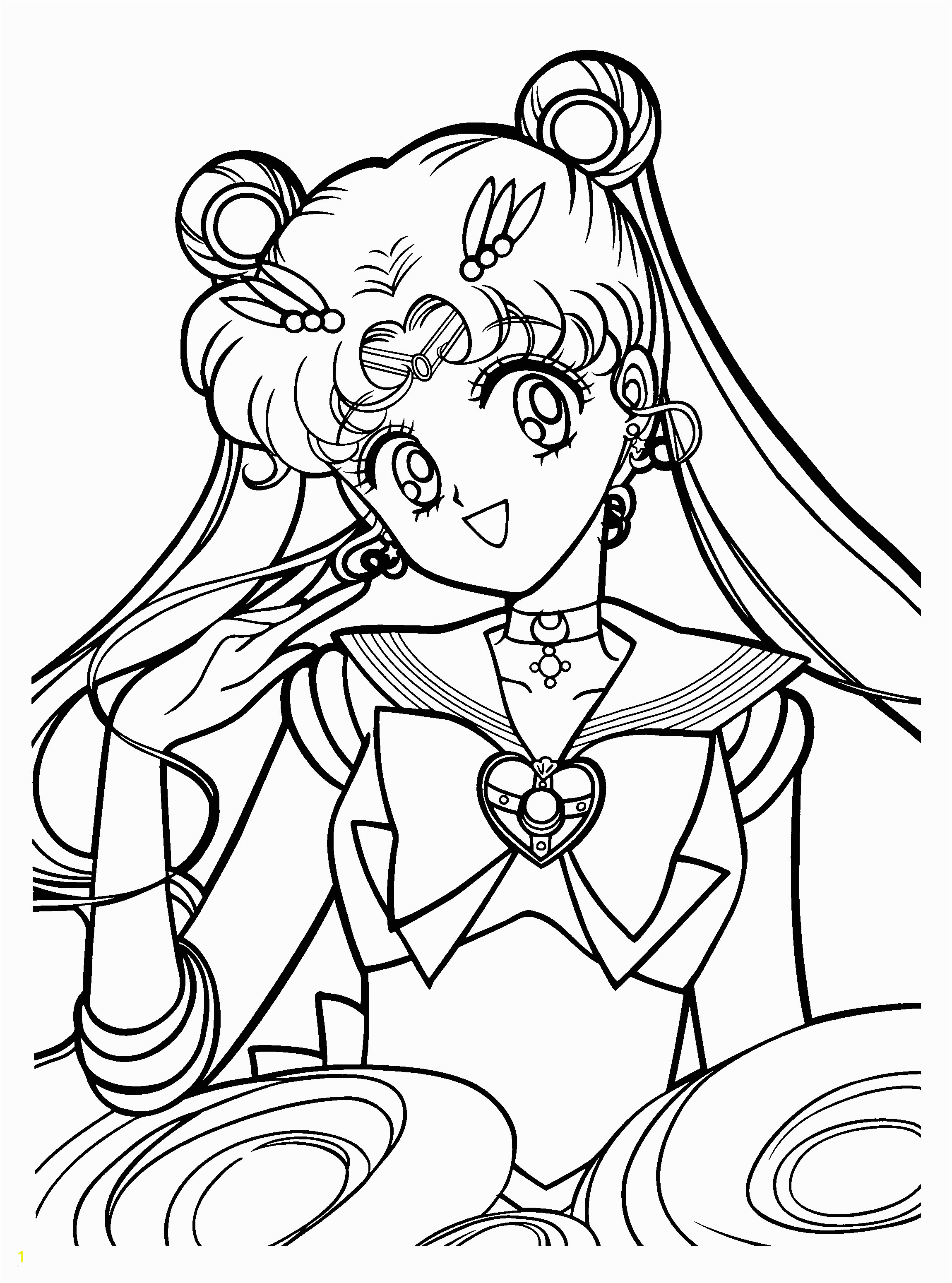 Sailor Mini Moon Coloring Pages Sailor Moon Coloring Pages attractive Erfreut Sailor Moon Farbseiten