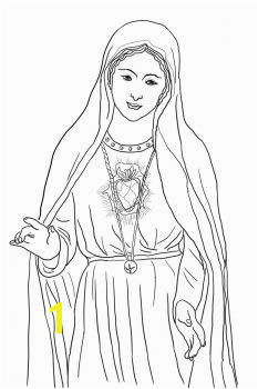 Immaculate Heart of Mary Catholic Coloring Page Catholic Crafts Church Crafts Catholic Kids