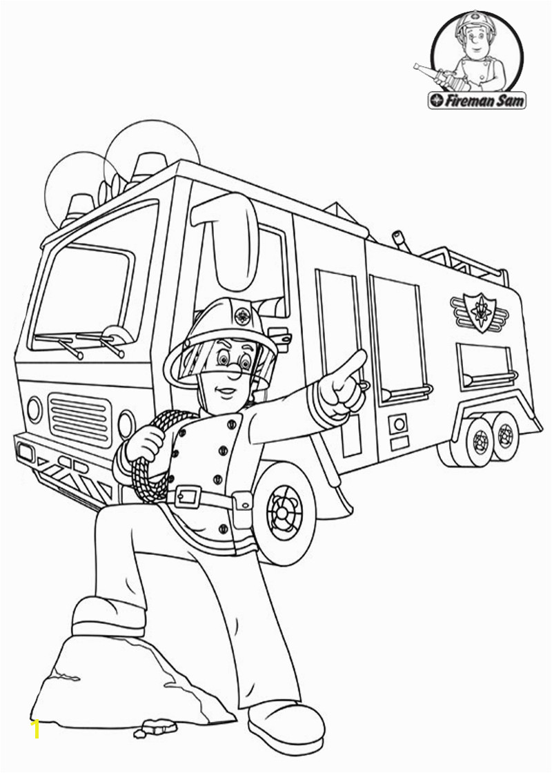 Cool Fireman Sam more on bestbratzcoloringpages Cars Coloring Pages Coloring Pages For
