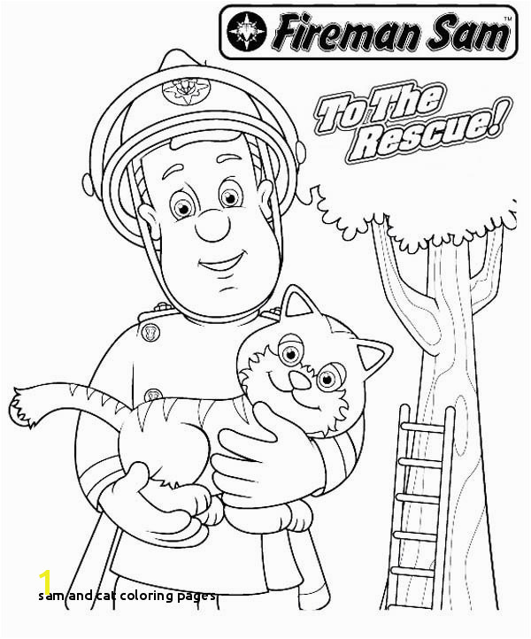 Fireman sam printable coloring pages