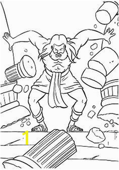 Samson coloring pages Samson and Delilah