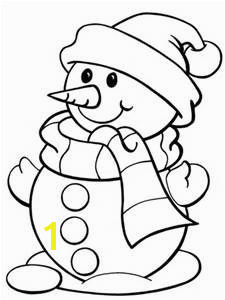Snowman Coloring Pages Bing images Christmas Coloring Sheets For Kids Christmas Drawings For Kids