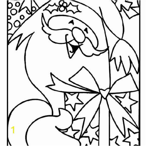 Crayola s Free Christmas Coloring Pages