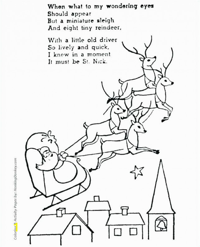 Santa Claus And Reindeer Coloring Pages coloring pages 69 santa claus and his reindeer c santas
