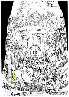 Scrooge McDuck by Don Rosa Disney Coloring Pages Coloring For Kids Coloring Books